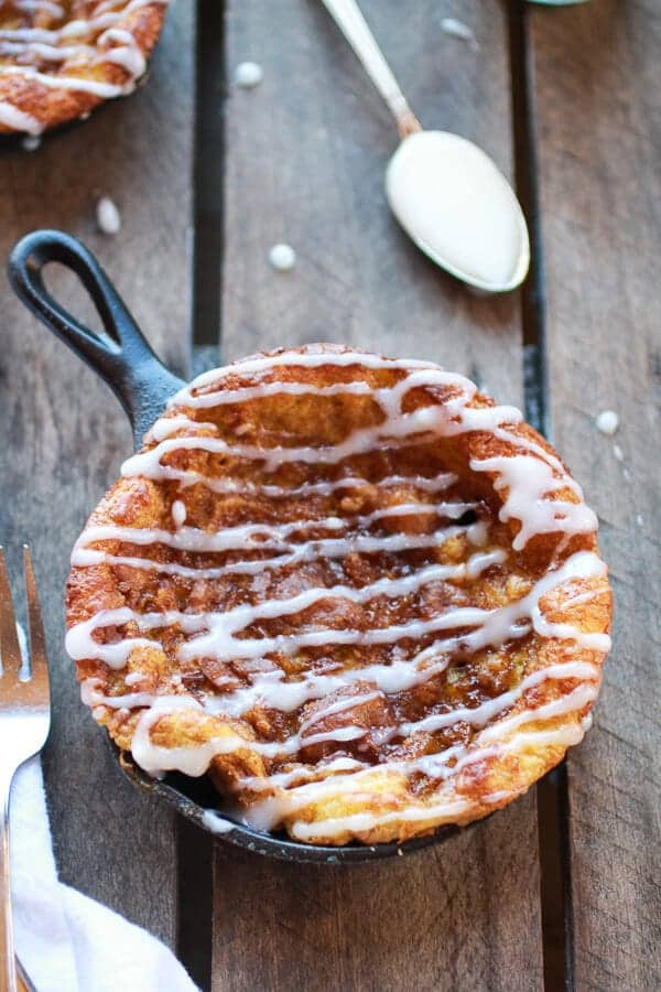 Chocolate Chip Pumpkin Cinnamon Roll Dutch Baby | halfbakedharvest.com