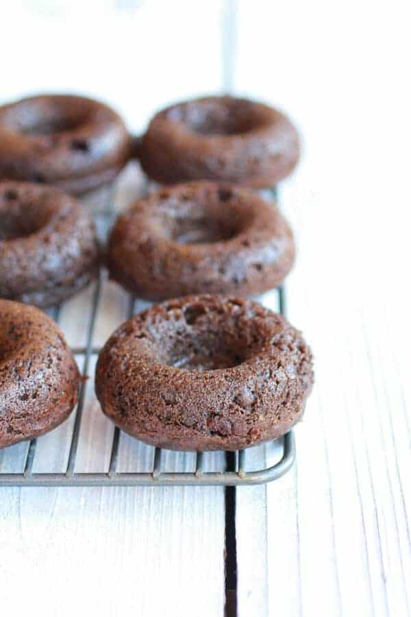 Vegan Gooey Chocolate Doughnuts | halfbakedharvest.com