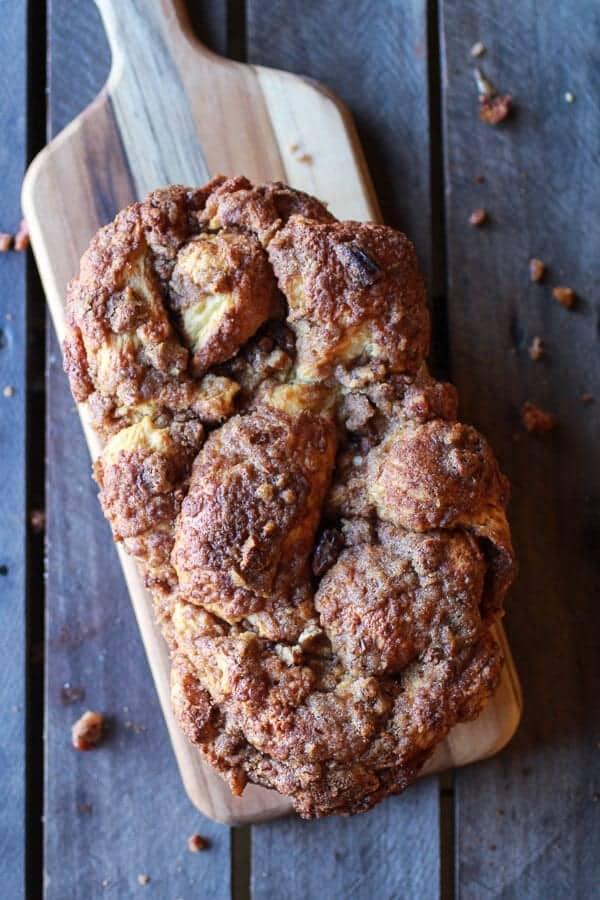 Cinnamon Crunch Braided Brioche Bread | halfbakedharvest.com