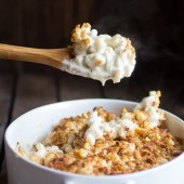 Creamy 4 Cheese Brie and Buttery Ritz Cracker Mac and Cheese-12
