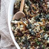 Kale and Wild Rice Casserole-14