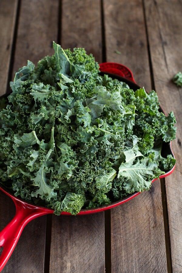 Kale and Wild Rice Casserole | halfbakedharvest.com