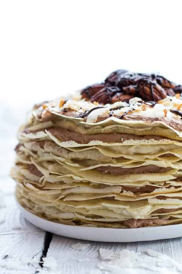 Chocolate-Coconut Crepes Recipes — Dishmaps