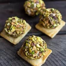Crazy Greek Feta, Sun-Dried Tomato and Pistachio Truffles