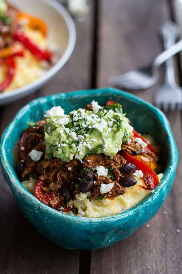 Easy Chicken Tamale Burrito Bowls