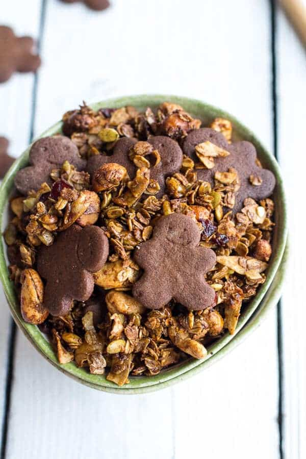 Gingerbread Man Granola-8