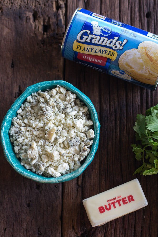 3-Ingredient Blue Cheese Appetizer (Idiot Proof) | halfbakedharvest.com