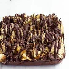 Loaded Peanut Butter Chocolate Covered Potato Chip Fudge (+ A KitchenAid Giveaway).