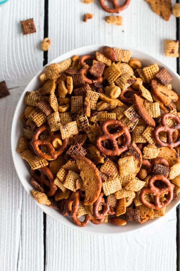 Mom's Secret Christmas Eve Chex Mix-5
