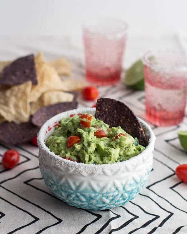 Ridiculously Easy Classic Fiesta Guacamole | halfbakedharvest.com