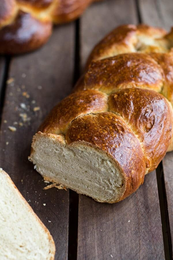 Simple Whole Wheat Challah Bread  - Half Baked Harvest
