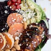 Black Rice Salad Bowls with Chipotle Orange Chicken, Cashews + Feta (edited)-9