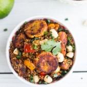 Jamaican Jerk Chicken and Fried Plantain Fried Quinoa-8