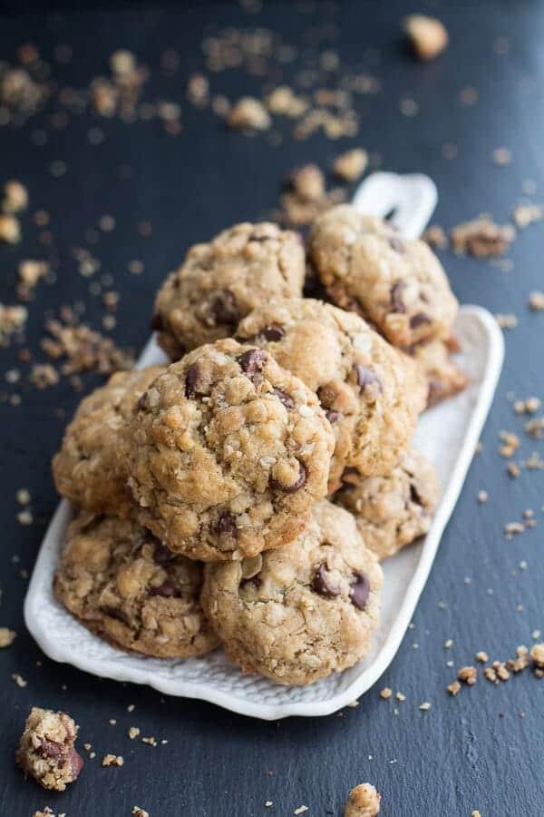 Best Oatmeal Chocolate Chip Cookies Around   halfbakedharvest.com