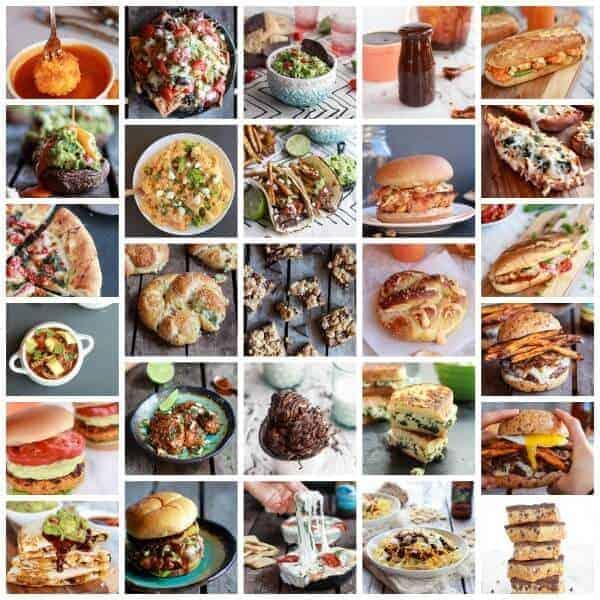 A Month's Worth Of Healthier Football Food + Life Talk | halfbakedharvest.com