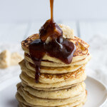 Rice Krispie Treat Pancakes with Browned Butter Syrup.-2