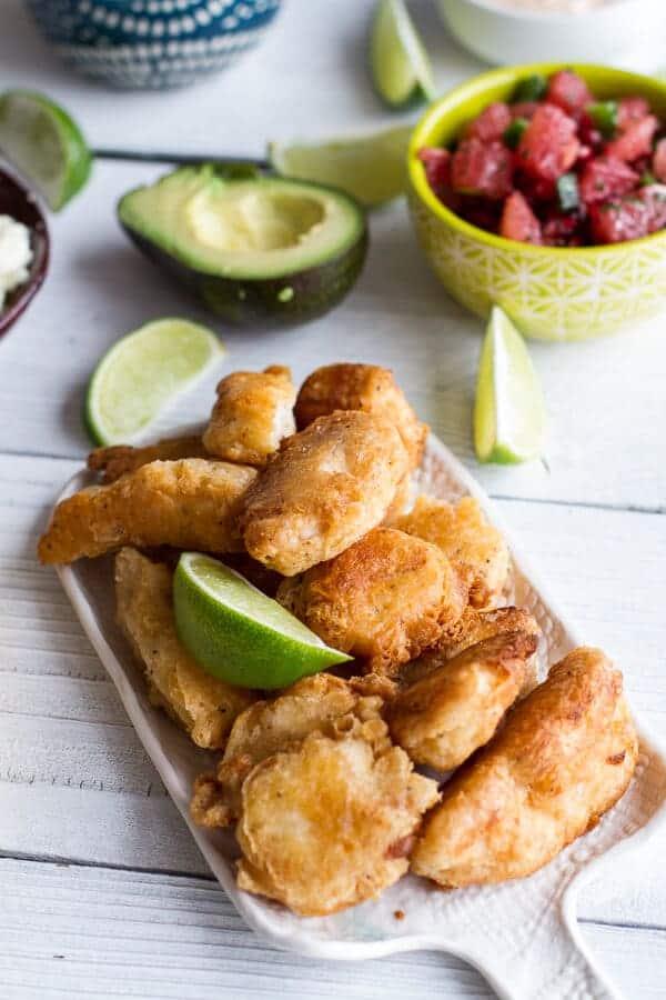 Baja Fish Tacos | halfbakedharvest.com