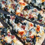 Brown Butter Lobster and Spinach Pizza with Bacon + Fontina.-5