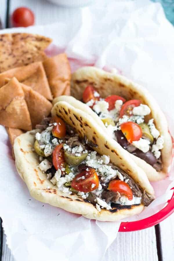Easy Traditional Greek Gyros | halfbakedharvest.com