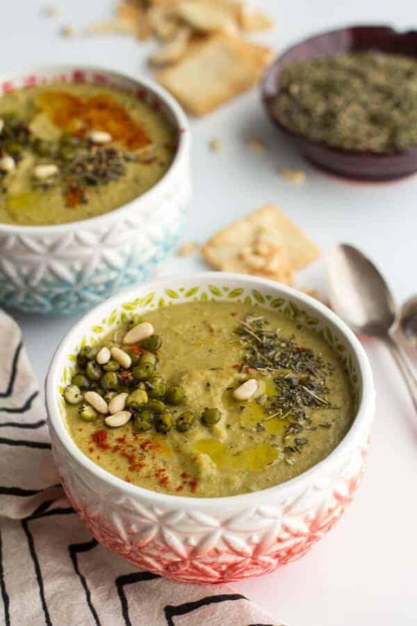 Herbs de Split Pea Soup | halfbakedharvest.com