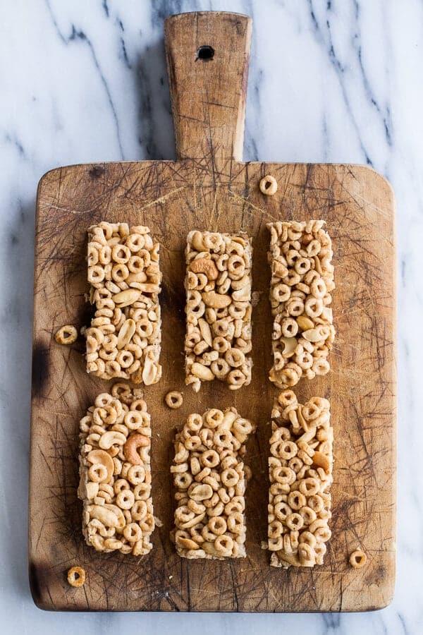 Honey Nut Cheerio Bars | halfbakedharvest.com @hbharvest