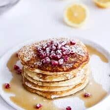 Lemon Ricotta Pancakes.