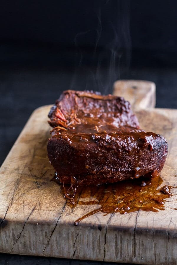 Savory Corn Beef Brisket + Irish Cheddar French Toast with Kale Pesto Slaw   halfbakedharvest.com