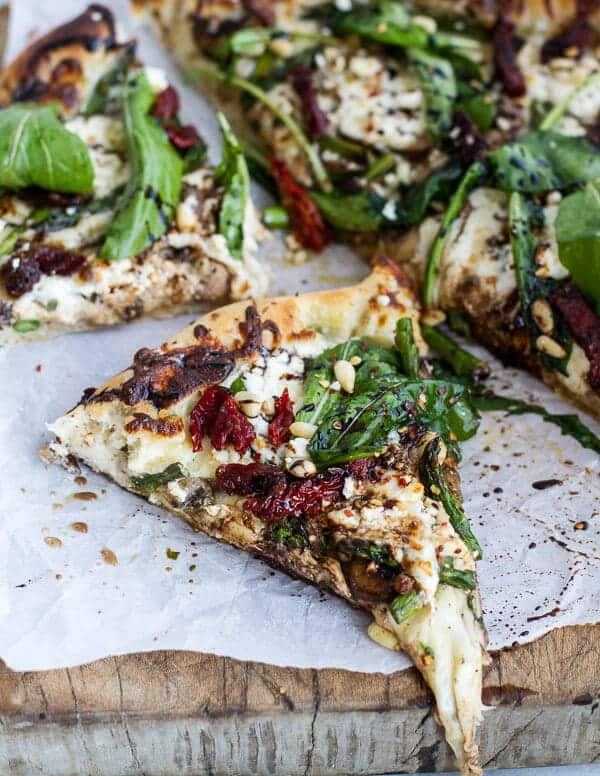 Asparagus And Mushroom Pizza Recipes — Dishmaps