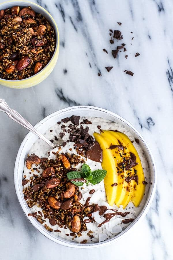 Coconut-Banana-Oats-Smoothie-Bowl-with-Crunchy-Black-Sesame-Quinoa-Cereal-+-Mango.-18