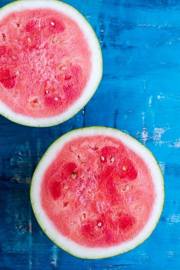Pink Watermelon Lemonade Slushies | halfbakedharvest.com