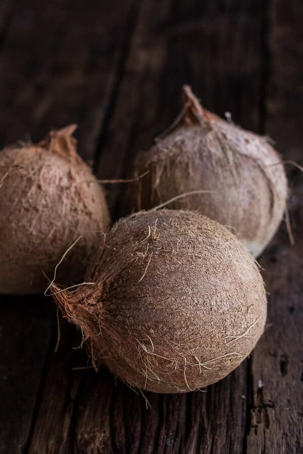 How To Make Homemade Coconut Milk from Real Coconuts | halfbakedharvest.com