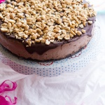 Nonnie's 5-Ingredient Chocolate and Peanut Butter Ice Cream Cake.-1