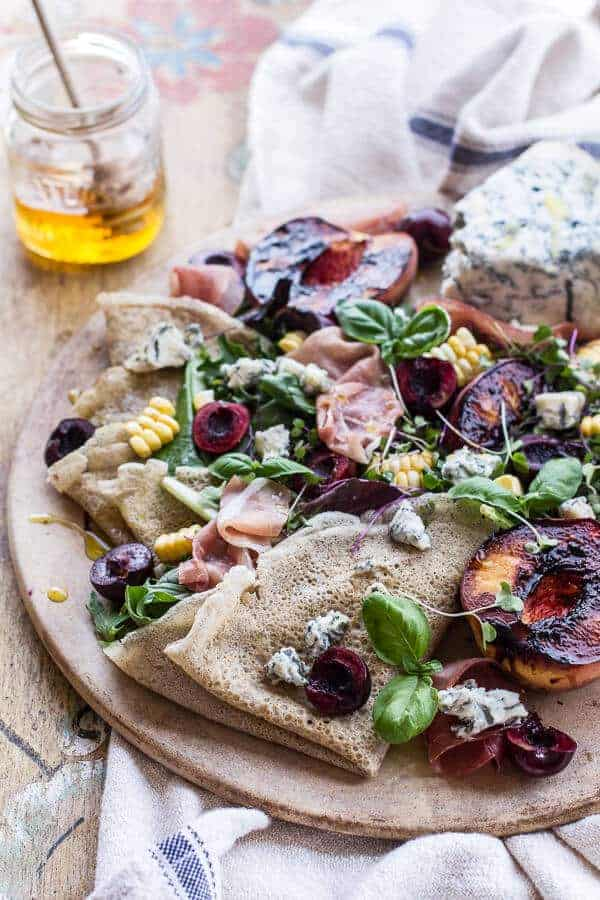 Berry And Gorgonzola Salad With Crispy Prosciutto Recipes — Dishmaps