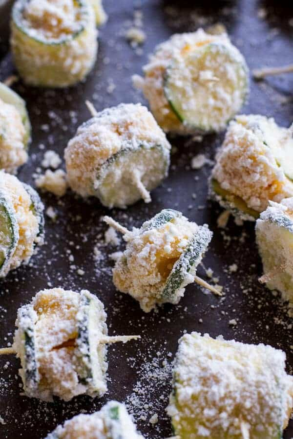Mac and Cheese Stuffed Fried Zucchini | halfbakedharvest.com