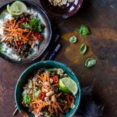 20 Minute Thai Basil Beef and Lemongrass Rice Bowls.-1