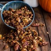 Brown Butter Pecan + Maple Quinoa Autumn Harvest Granola-10
