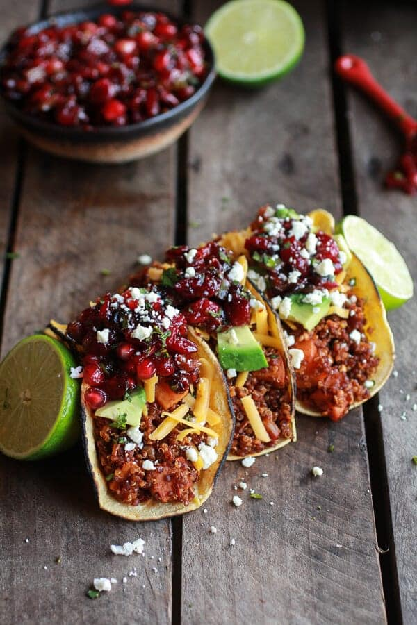 Chipotle-Quinoa-Sweet-Potato-Tacos-with-Roasted-Cranberry-Pomegranate-Salsa-1