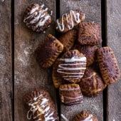 Mini Cream Cheese Stuffed Cinnamon Sugar Pumpkin Bagel Poptarts-1