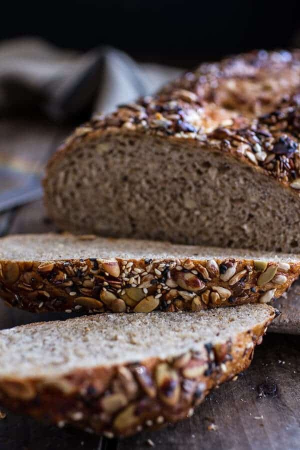 Seeded Whole Grain Breakfast Bread | halfbakedharvest.com @hbharvest