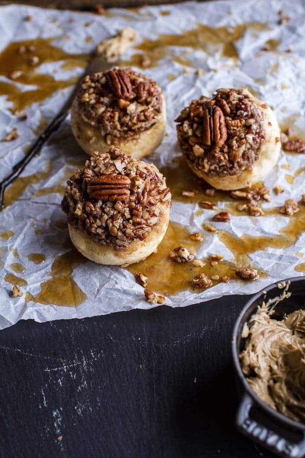 Wholemeal Maple Pecan Buns | halfbakedharvest.com @hbharvest