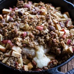 Apple Crisp Baked Brie + Sunday Links to Inspire.