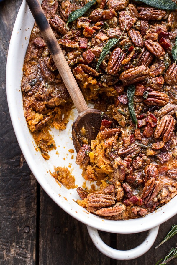 Bourbon Sweet Potato Casserole