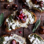 Buttered Mushroom, Sage Pesto + Goat Cheese Sourdough Toast-1