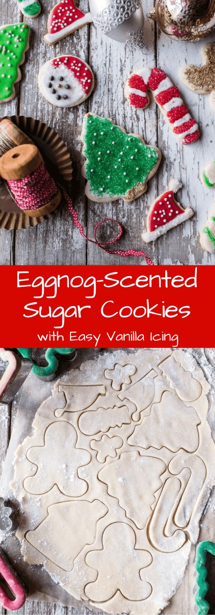 Eggnog-Scented Sugar Cookies | halfbakedharvest.com @hbharvest