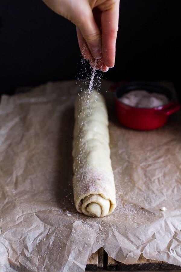 (Idiot Proof) 5-Ingredient Cranberry + Brie Cinnamon Sugar Puff Pastry Swirls | halfbakedharvest.com @hbharvest