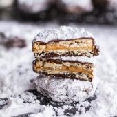 (Idiot Proof) 5-Ingredient Puppy Chow Ritz Cracker Cookies-5