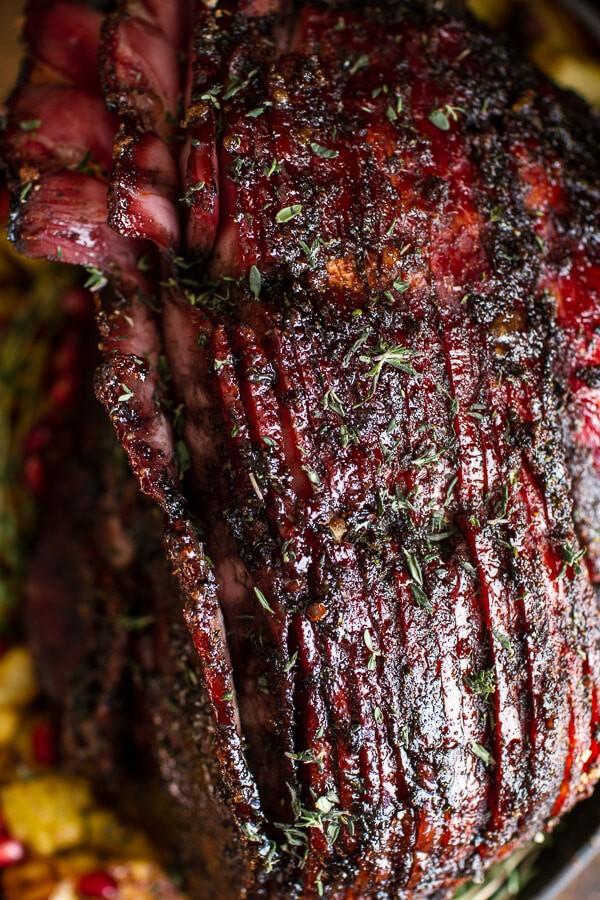 Chipotle Pineapple Jerk Glazed Ham | halfbakedharvest.com @hbharvest