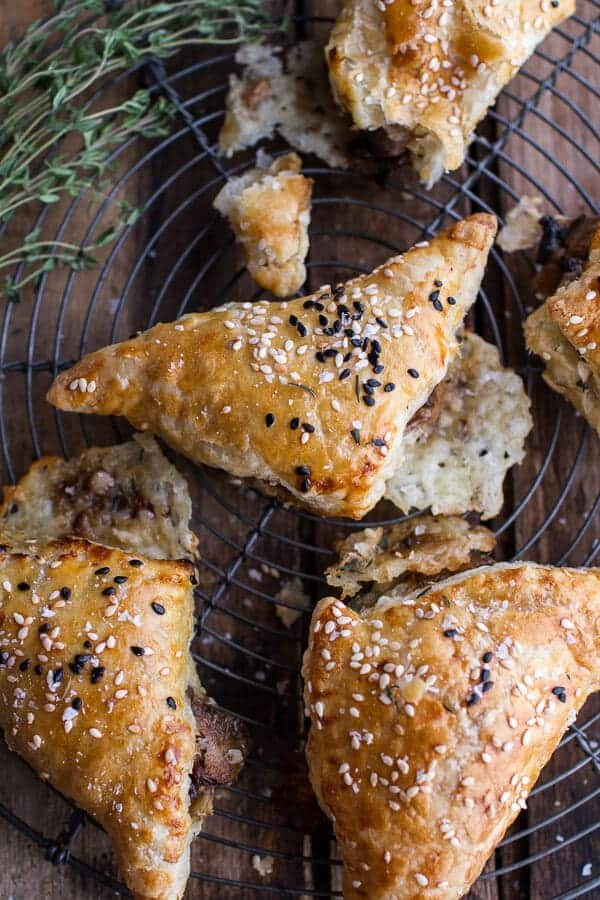 Mushroom and Havarti Turnovers | halfbakedharvest.com @hbharvest