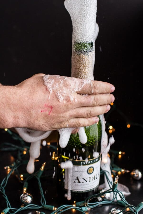 One-Pan Baked Champagne Cream Sauce Fettuccine with Truffle Oil | halfbakedharvest.com @hbharvest