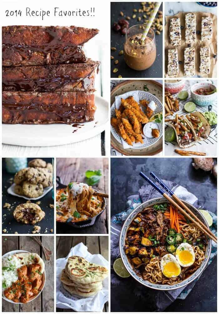 Favorite Recipes of 2014 halfbakedharvest.com @hbharvest